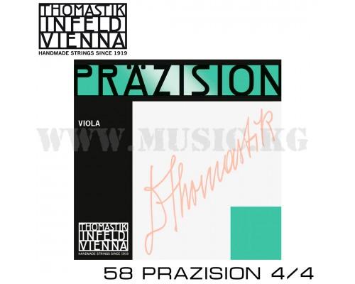 Струны для скрипки Thomastik Prazision 58 4/4