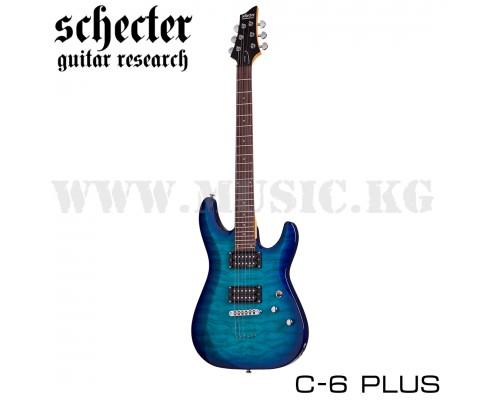 Электрогитара Schecter C-6 Plus Ocean Blue Burst