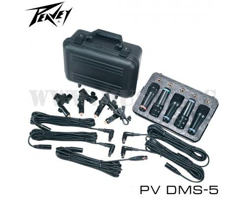 Набор микрофонов для ударной установки Peavey DMS-5