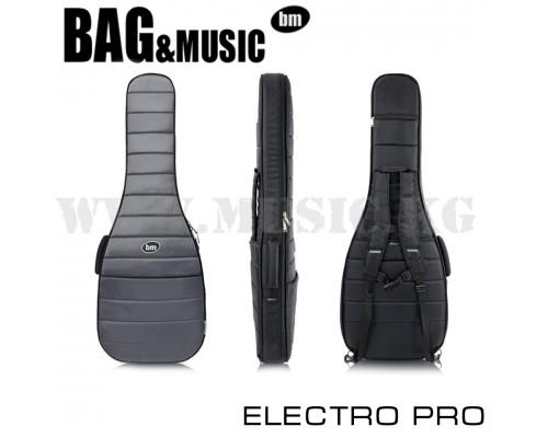 Полужесткий чехол для электрогитары Bag&Music Electro Pro Grey