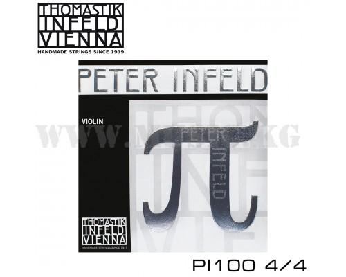 Струны для скрипки Thomastik Peter Infeld PI100 4/4