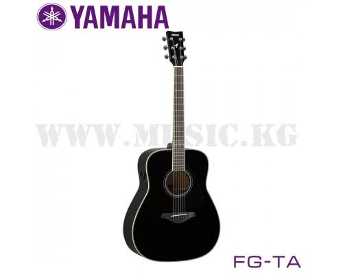Трансакустическая гитара Yamaha FG-TA Black