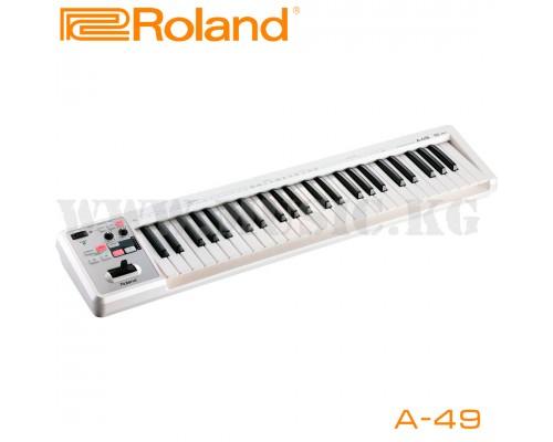 Midi-клавиатура Roland A-49 Wh