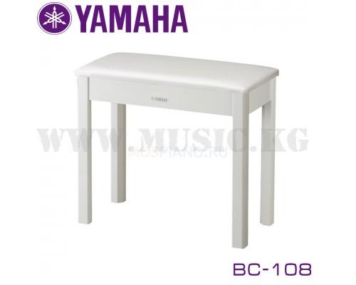 Банкетка Yamaha  BC-108WH