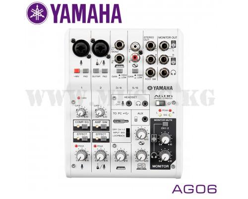 Микшер и Звуковая карта Yamaha AG06