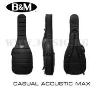 Чехол для акустической гитары Bag&Music Casual Acoustic Max Black