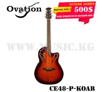 Электроакустическая гитара Ovation CE48-P-KOAB