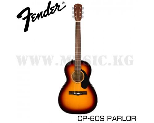 Акустическая гитара Fender CP-60S Parlor Sunburst