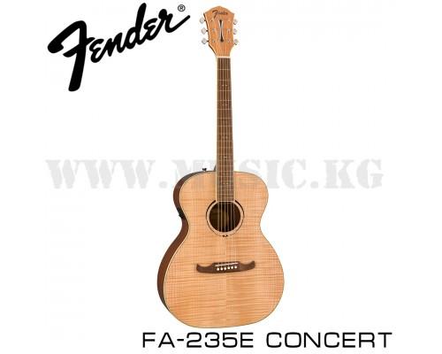 Электроакустическая гитара Fender FA-235E Concert Natural