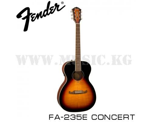 Электроакустическая гитара Fender FA-235E Concert Sunburst
