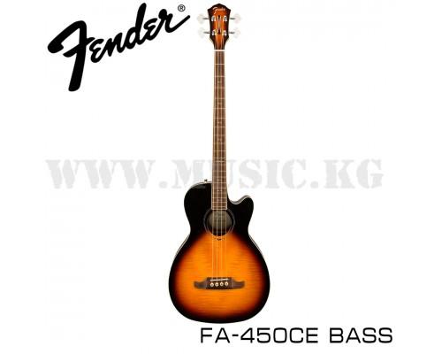 Электроакустическая бас-гитара Fender FA-450CE Sunburst