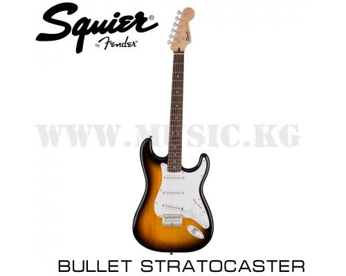 Электрогитара Fender Squier Bullet SSS HT Sunburst