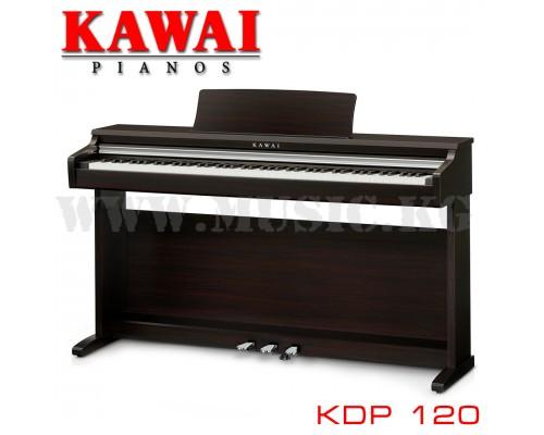 Цифровое фортепиано Kawai KDP 120 Premium Rosewood