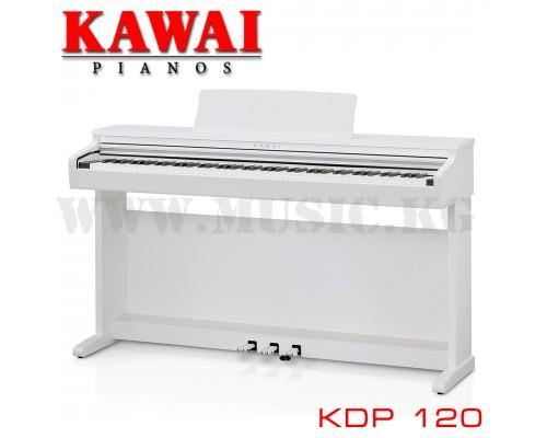 Цифровое фортепиано Kawai KDP 120 Premium Satine White