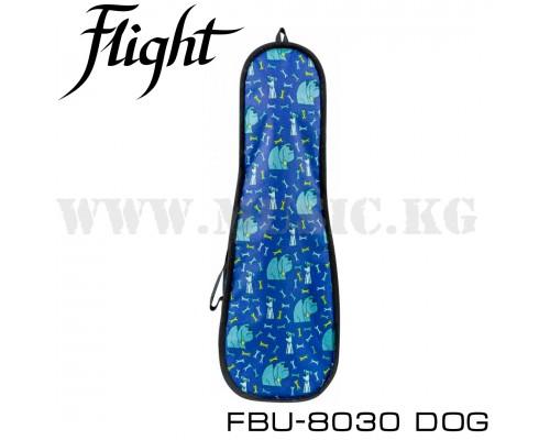 Чехол для укулеле сопрано Flight  FBU-8030 DOG