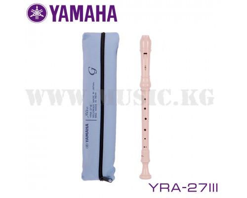 Блокфлейта альт Yamaha YRA-27III