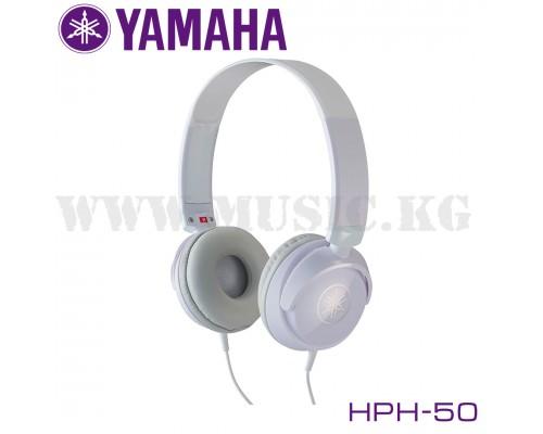 Инструментальные наушники Yamaha HPH-50 WH