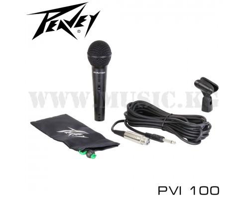 Динамический микрофон Peavey PVi 100 (XLR - 1/4' Jack)