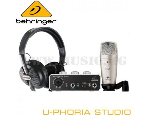 Комплект Behringer U-PHORIA STUDIO