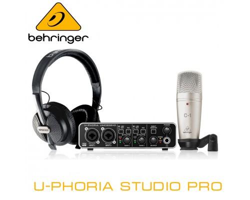 Комплект Behringer U-Phoria STUDIO PRO