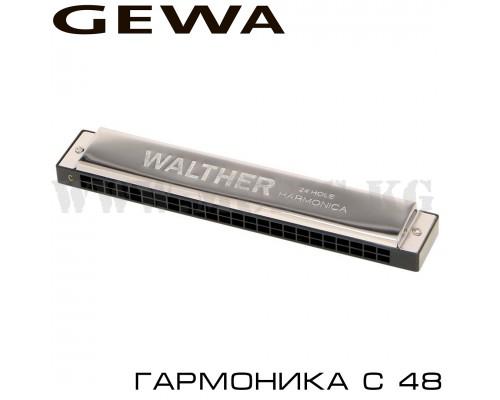 Губная гармошка Gewa Harmonica Richter C-48
