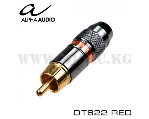 Alpha Audio Разъем RCA DT622 Red