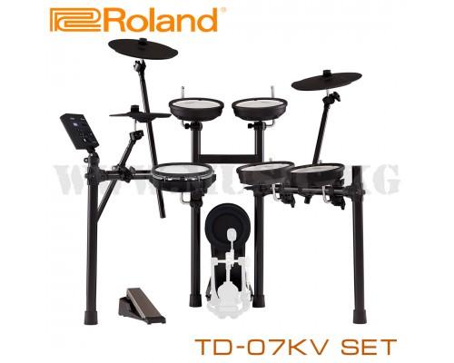 Цифровая ударная установка Roland TD-07KV V-Drum Set