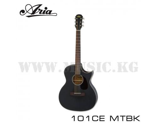 Электроакустическая гитара ARIA-101CE MTBK