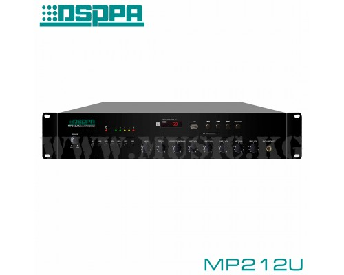 6-зонный микшер-усилитель DSPPA MP212U