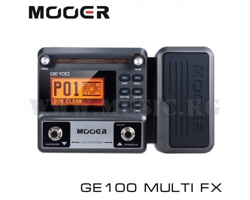 Гитарный процессор Mooer GE100 Guitar Multi Fx