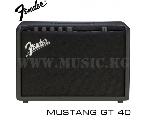 Комбоусилитель для электрогитары FENDER MUSTANG GT 40