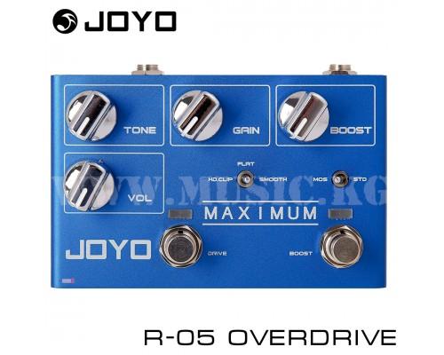 Педаль JOYO R-05 Maximum Overdrive