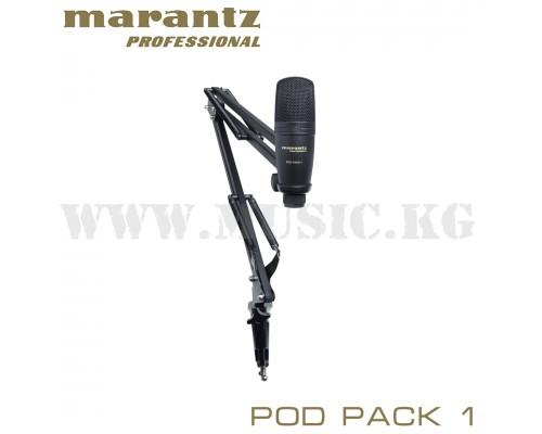 USB-микрофон Marantz PRO PAD Pack