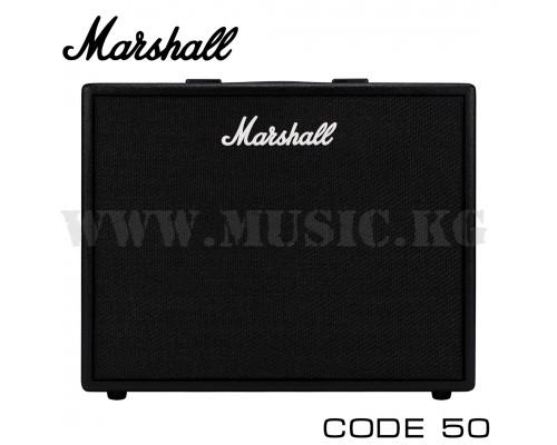 Комбоусилитель для электрогитары Marshall Code 50