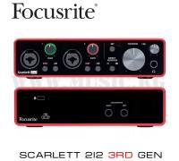 Звуковая карта Focusrite Scarlett 2i2 3rd Gen