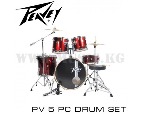 Peavey PV 5 pc drum set