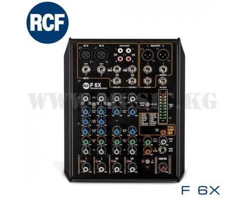 Микшерный пульт RCF F6X