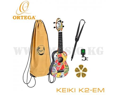 Укулеле сопрано Ortega Keiki K2-EM