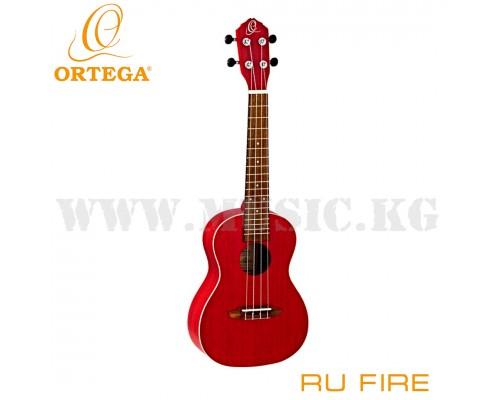 Укулеле концертная Ortega RU Fire