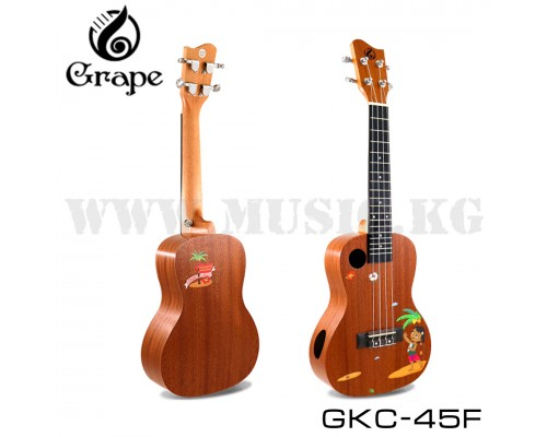 Укулеле концертная Grape GKC-45F