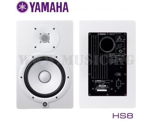 Активные студийные мониторы Yamaha HS 8 White (пара)