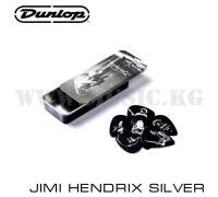 Набор медиаторов Dunlop Jimi Hendrix Silver (6 шт)
