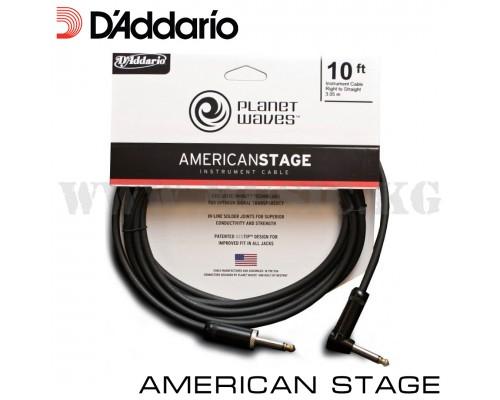 Инструментальный кабель D'Addario Planet Waves American Stage
