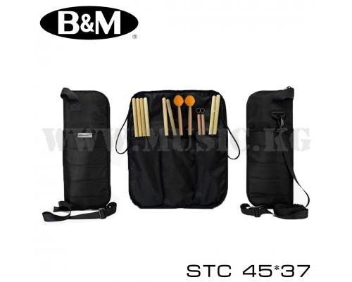Чехол для барабанных палочек Bag&Music STC 45x37 (черный)