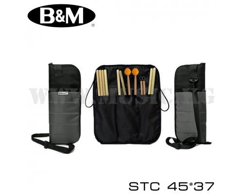 Чехол для барабанных палочек Bag&Music STC 45x37 (серый)