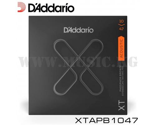 Струны для акустической гитары D'Addario XTAPB1047