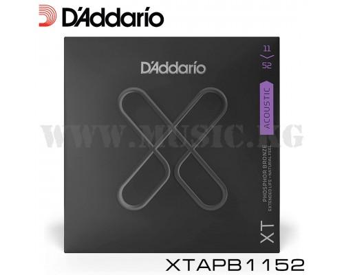 Струны для акустической гитары D'Addario XTAPB1152