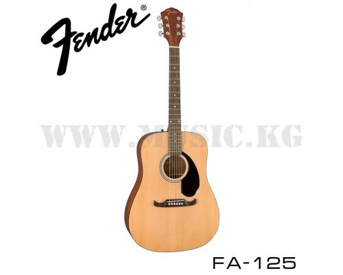 Акустическая гитара Fender FA-125