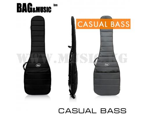 Чехол для бас-гитары Bag&Music Casual Bass