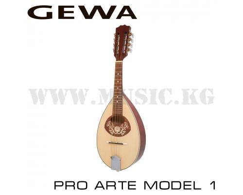 Акустическая мандолина GEWA Flachmandoline Pro Arte Model 1